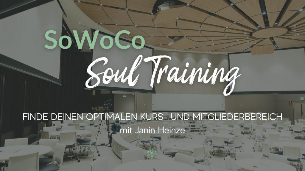 Finde deinen optimalen Kurs- und Mitgliederbereich mit Janin Heinze