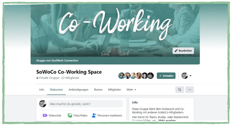 SoWoCo Co Working Space Online